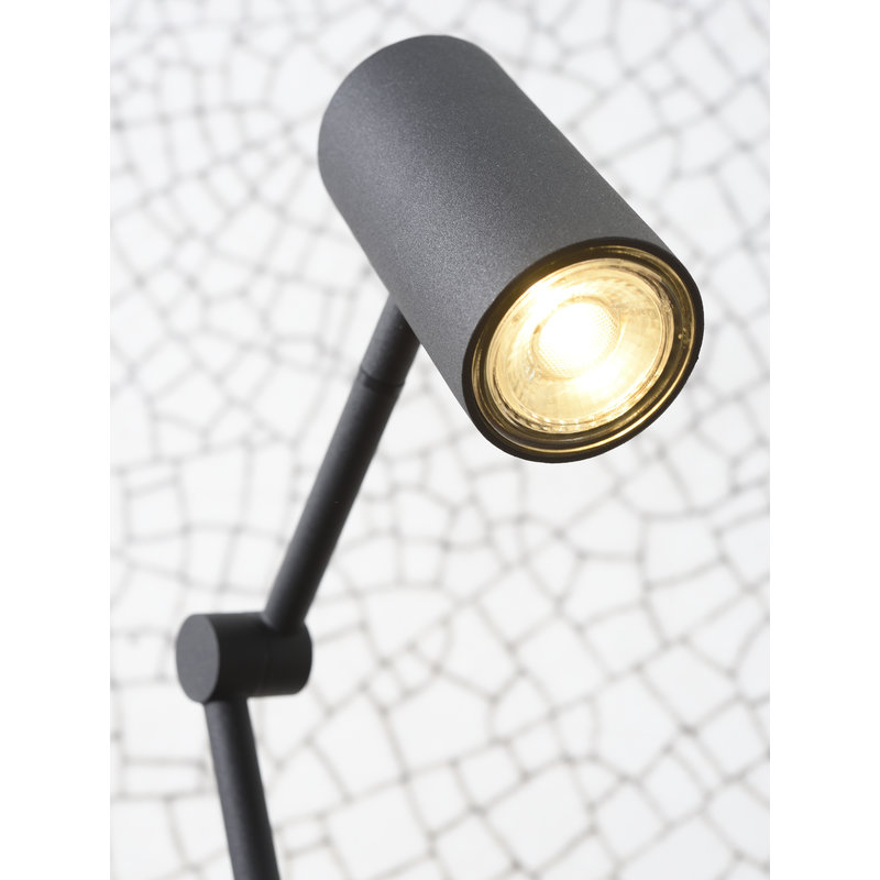 it's about RoMi-collectie Table lamp iron Montreux LED black
