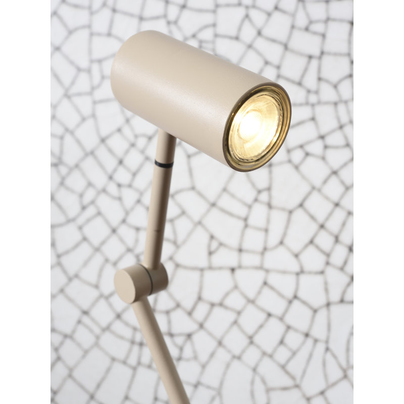it's about RoMi-collectie Table lamp iron Montreux LED sand