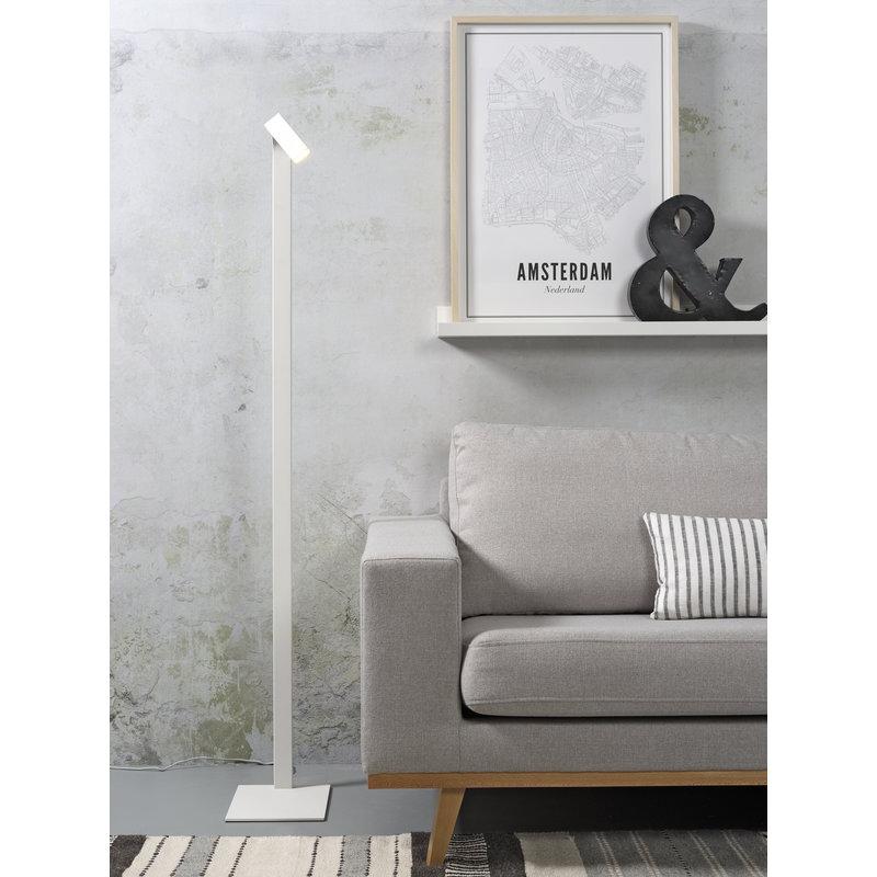 it's about RoMi-collectie Vloerlamp ijzer Zurich LED wit