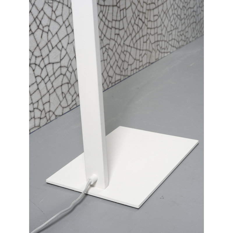 it's about RoMi-collectie Floor lamp iron Zurich LED white
