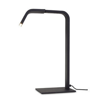 it's about RoMi Tafellamp ijzer Zurich LED zwart