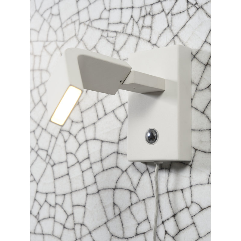 it's about RoMi-collectie Wall lamp iron Zurich LED white