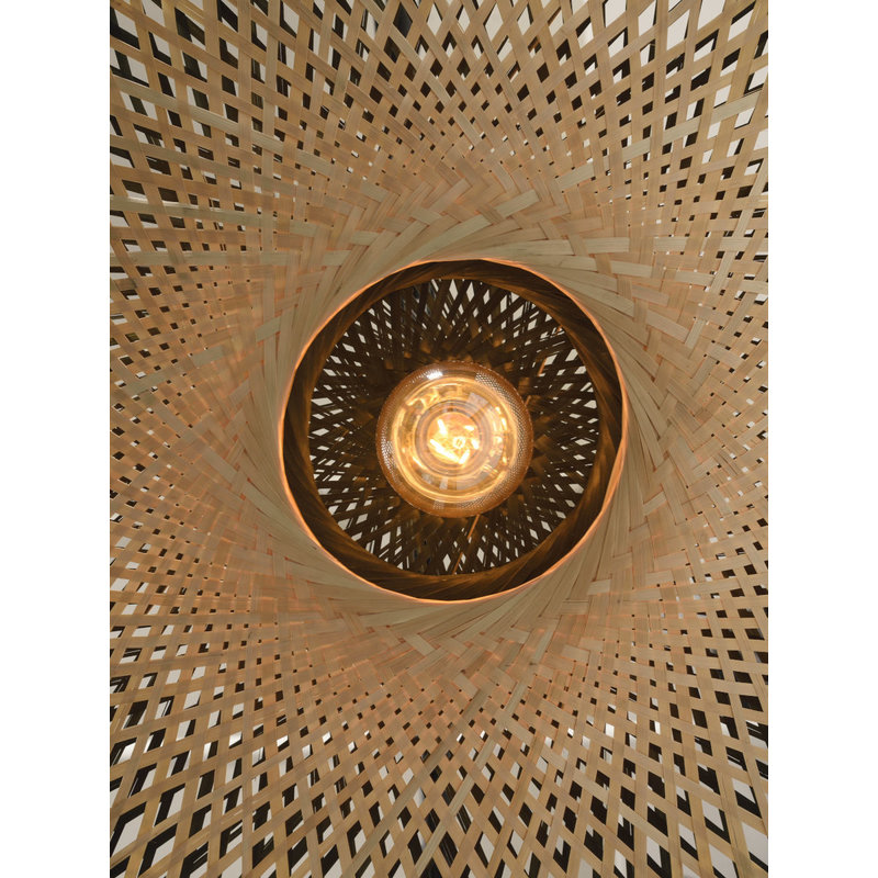 it's about RoMi-collectie Wall lamp Kalimantan bamboo flat S