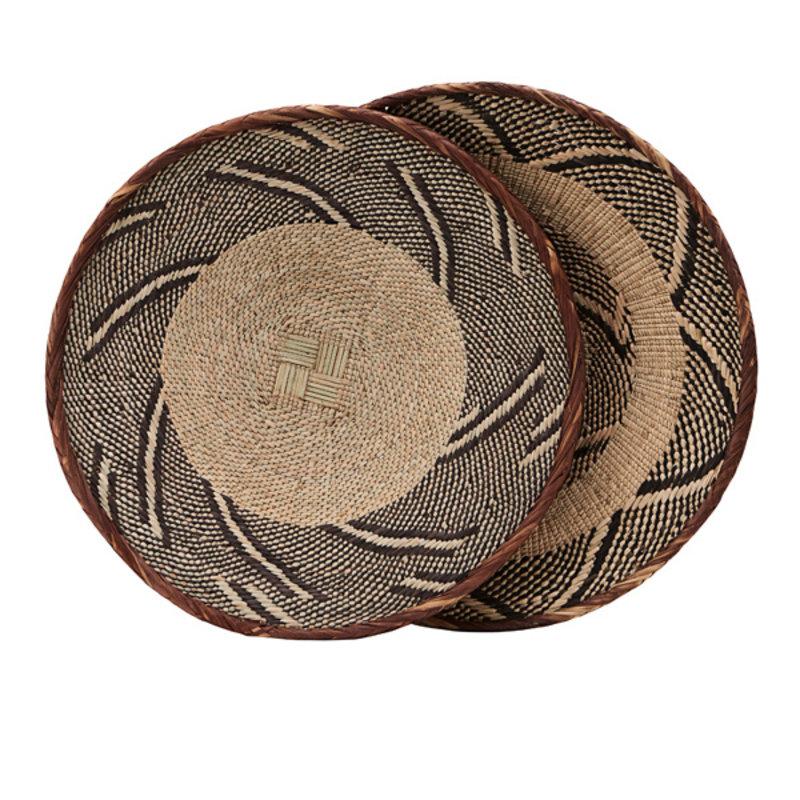 House Doctor-collectie Mand Tonga 30 cm - patronen en maten varieren