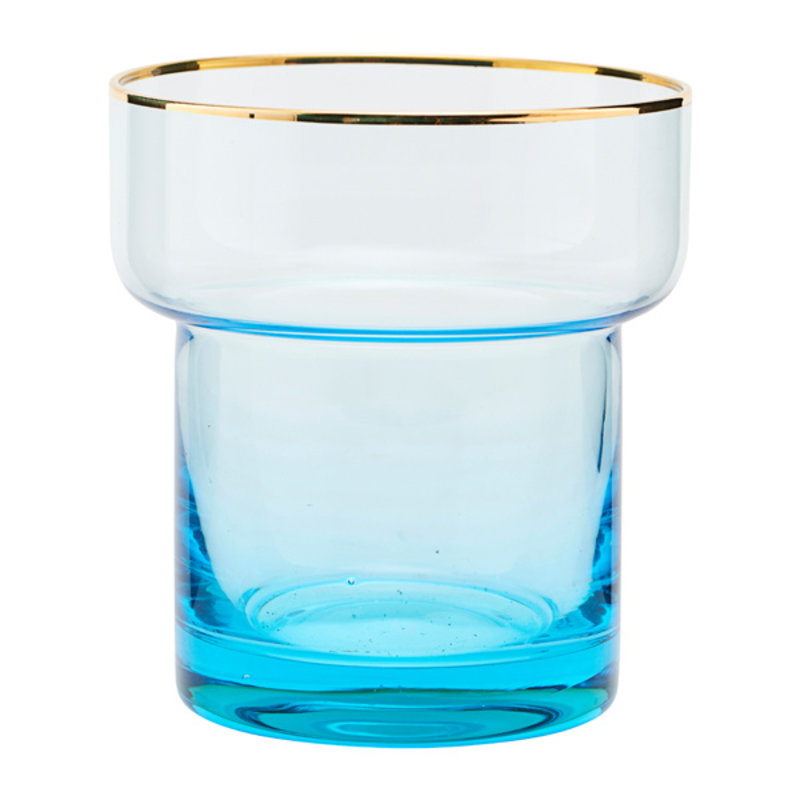 House Doctor-collectie Glass, Indora, Light blue, 350 ml