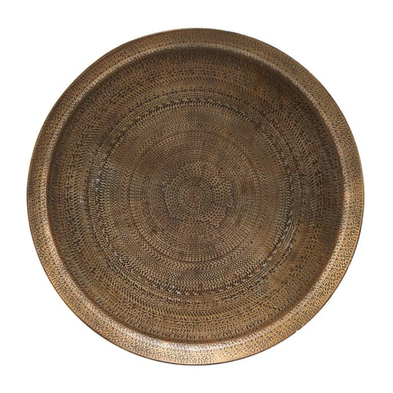 House Doctor-collectie Dienblad  Jhansi met Antieke koperen afwerking