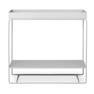 ferm LIVING Plant box - twee niveaus - lichtgrijs