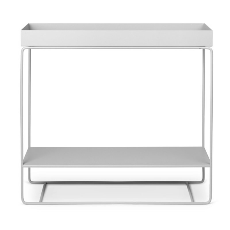 ferm LIVING-collectie Plant box Two-Tier  - Light Grey
