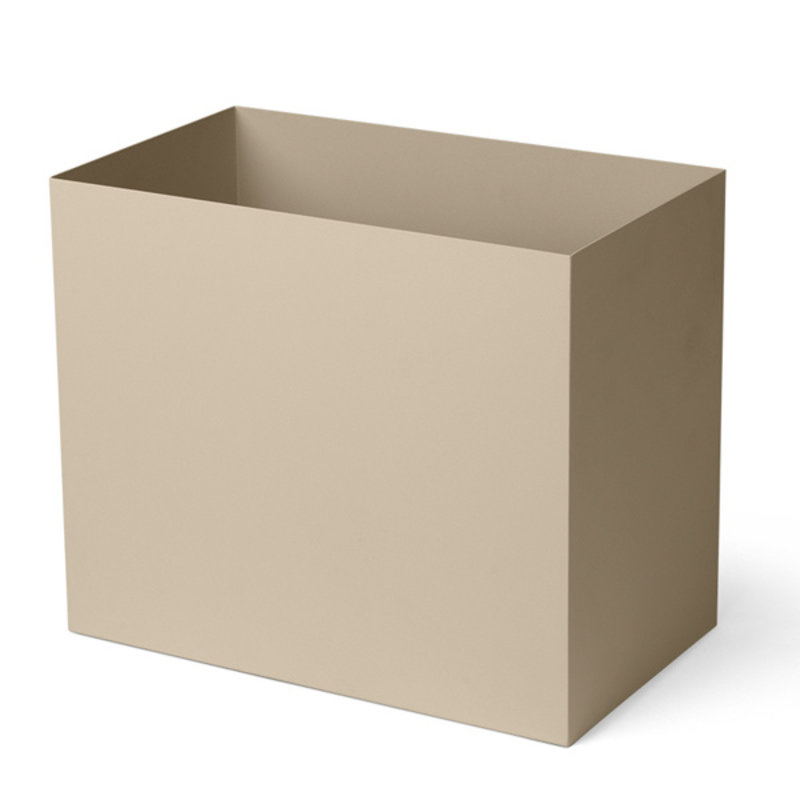 ferm LIVING-collectie Plant Box Pot Large - Cashmere