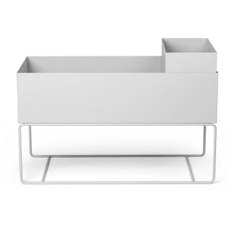 ferm LIVING-collectie Plant Box Large - Light Grey