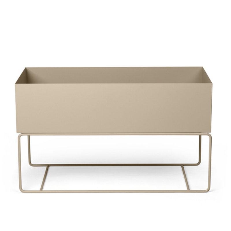 ferm LIVING-collectie Plant Box Large  cashmere