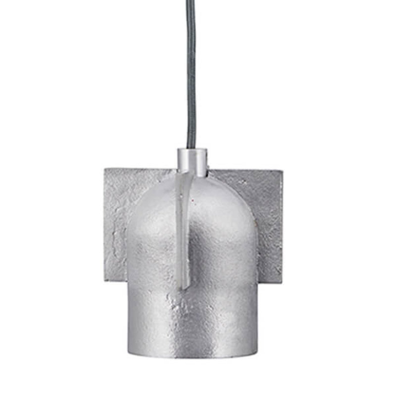 House Doctor-collectie Lamp Akola, Brushed silver