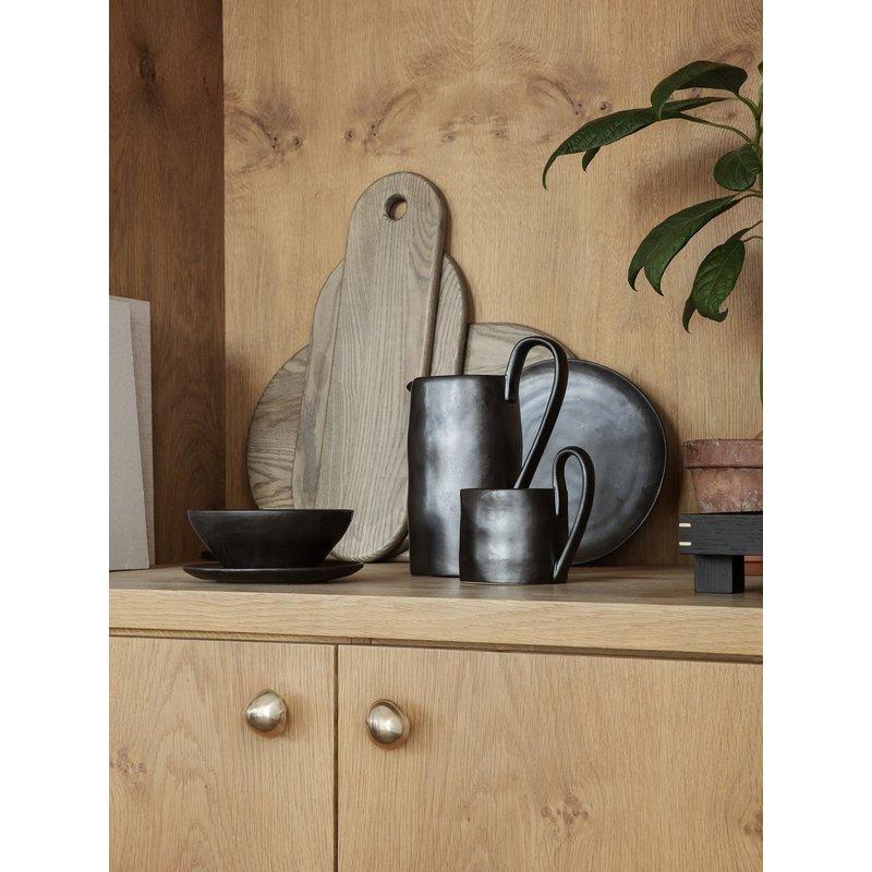ferm LIVING-collectie Wandhaak Mushroom Brass