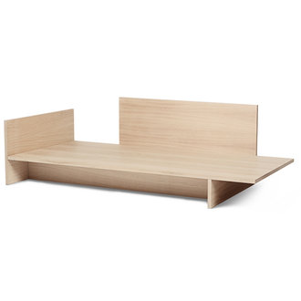 ferm LIVING Kona Bed - Natural Oak Veneer