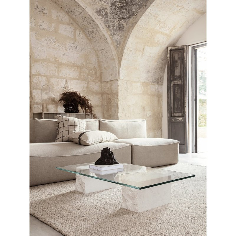 ferm LIVING-collectie Mineral Coffee Table - Bianco Curia