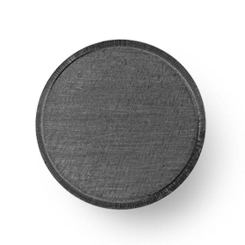 ferm LIVING-collectie Wandhaak - zwart Brass - klein