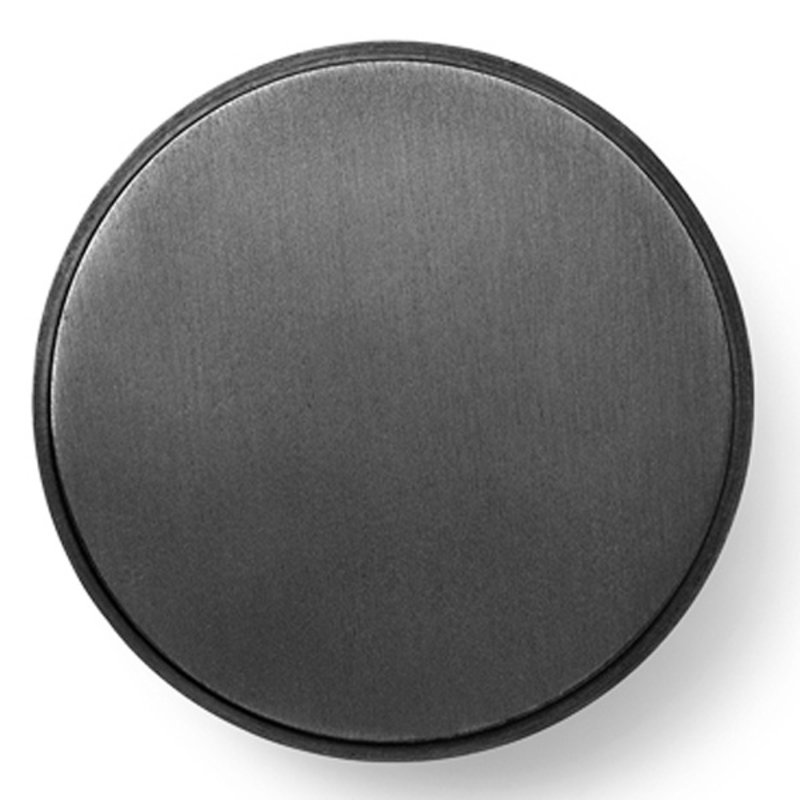 ferm LIVING-collectie Wandhaak - zwart Brass - groot