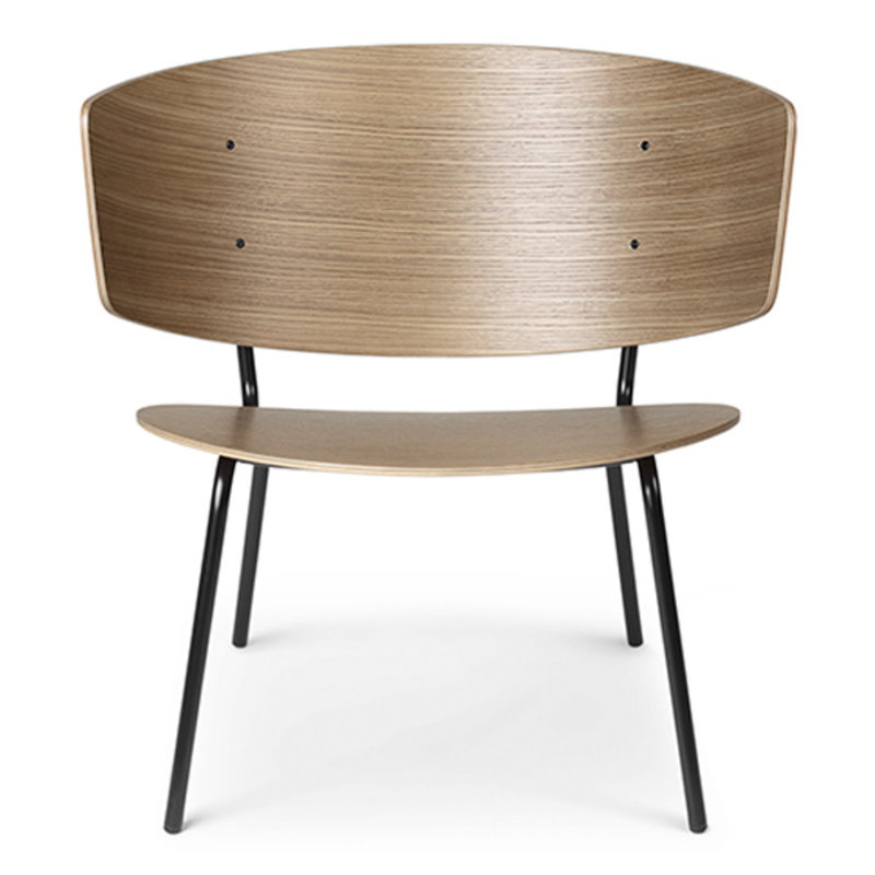 ferm LIVING-collectie Herman Lounge Dark Stained Oak