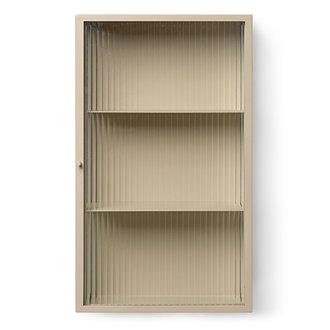 ferm LIVING Haze Wall Cabinet - Cashmere