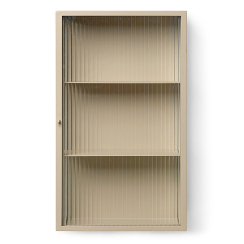ferm LIVING-collectie Haze Wall Cabinet - Cashmere