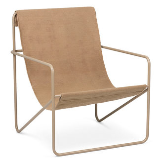 ferm LIVING Desert Chair - Cashmere/Solid