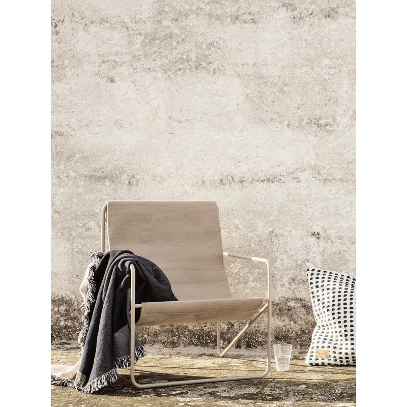 ferm LIVING-collectie Desert Chair - Cashmere/Solid