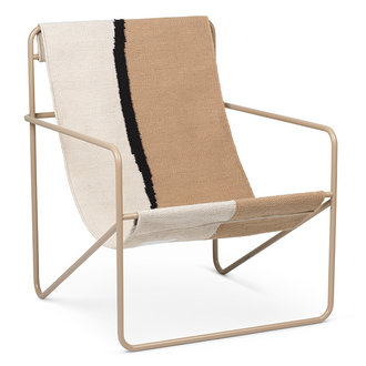 ferm LIVING Desert Chair - Cashmere/Soil