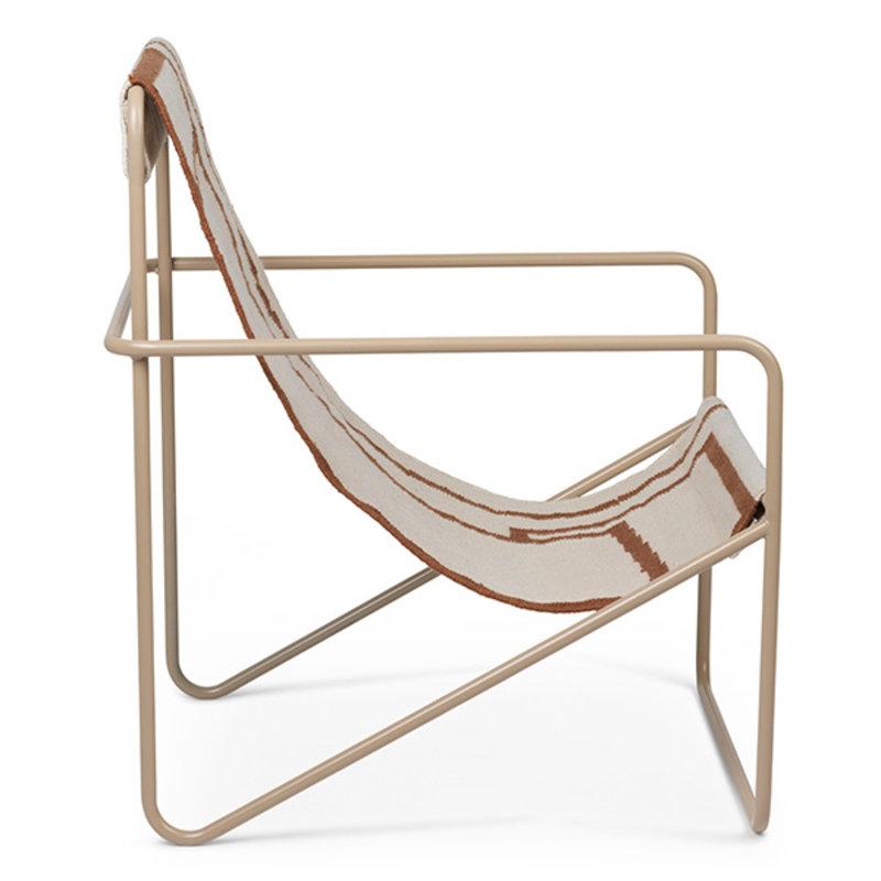 ferm LIVING-collectie Desert Chair - Cashmere/Shape