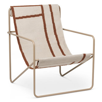 ferm LIVING Desert Chair - Cashmere/Shape