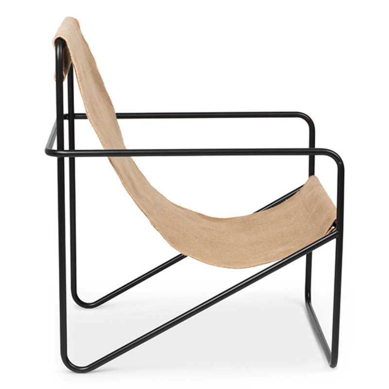 ferm LIVING-collectie Desert Chair - Black/Solid