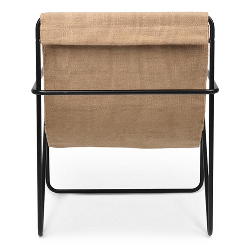 ferm LIVING-collectie Desert Chair - zwart/Solid