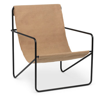 ferm LIVING Desert Chair - zwart/Solid