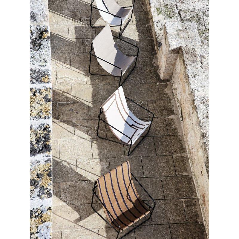 ferm LIVING-collectie Desert Chair - Black/Shape
