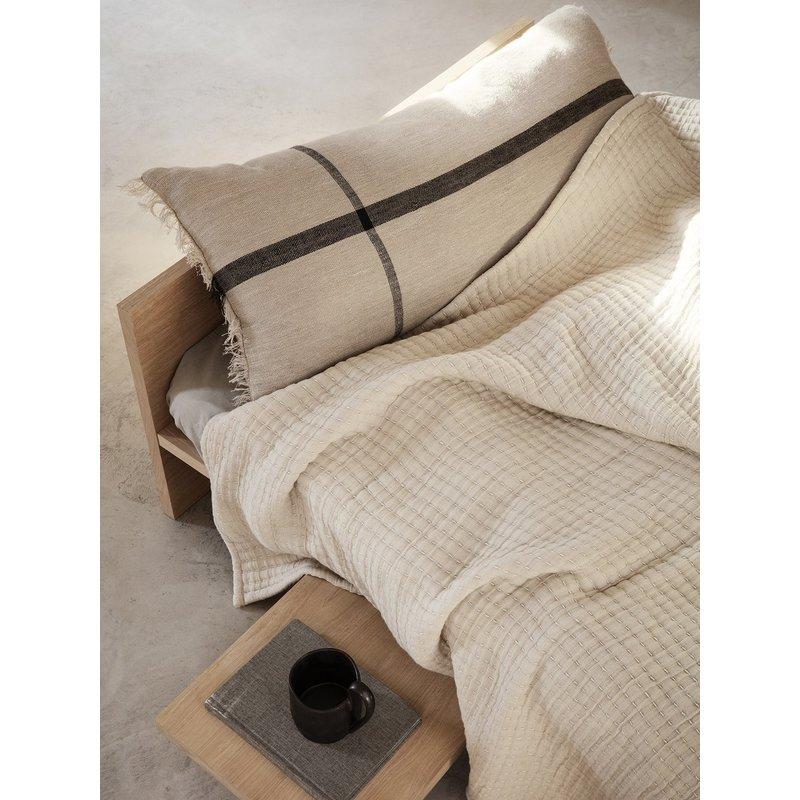 ferm LIVING-collectie Daze bedsprei zand