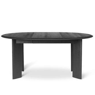 ferm LIVING Bevel Table Extendable x 1 - Black Oiled