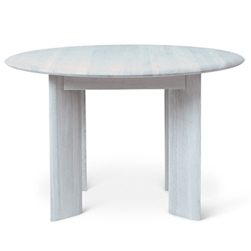 ferm LIVING-collectie Bevel Table - Round Ø117 - Ice Blue