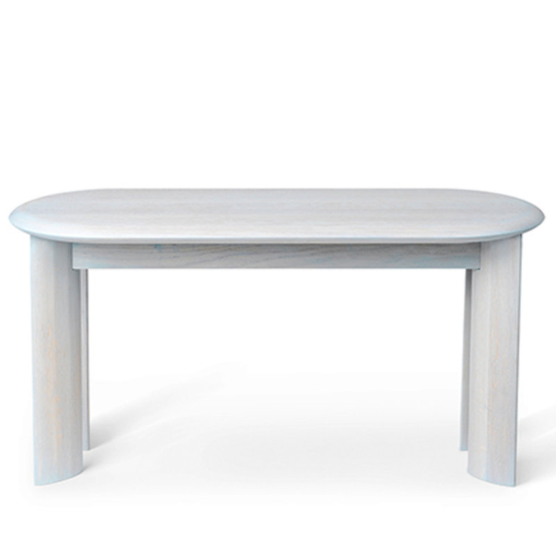 ferm LIVING-collectie Bevel Bench - Ice Blue