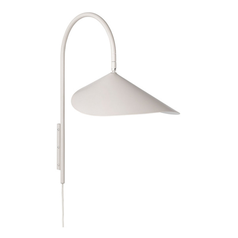 ferm LIVING-collectie Arum Wall Lamp - Cashmere