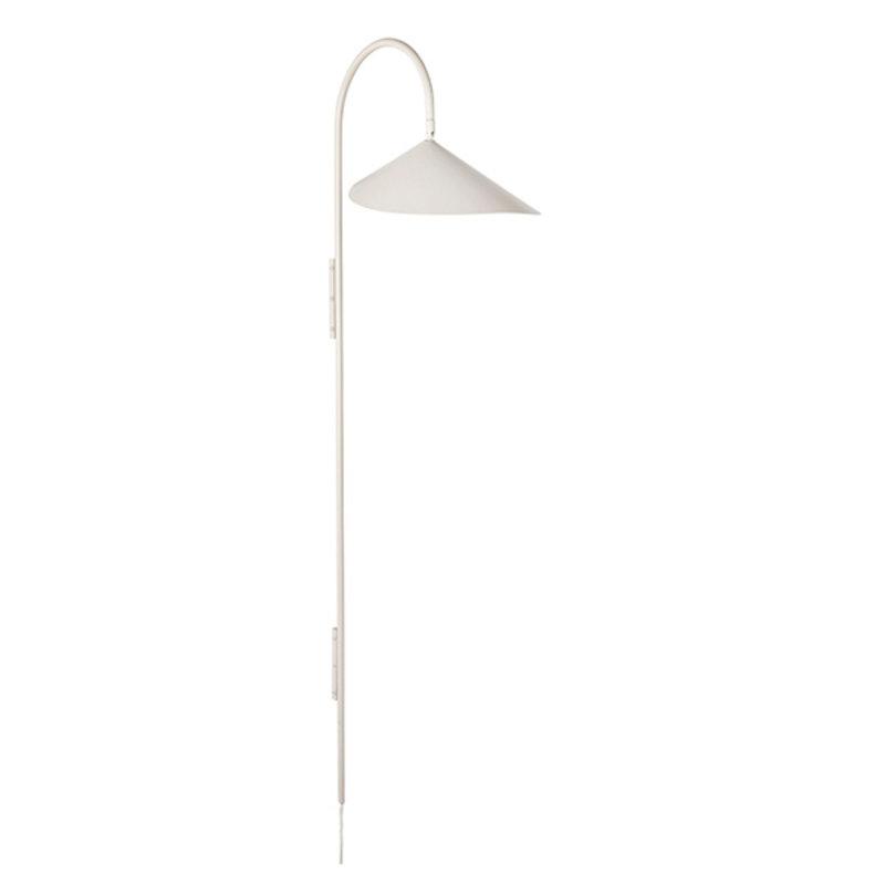 ferm LIVING-collectie Wandlamp Arum Tall Cashmere