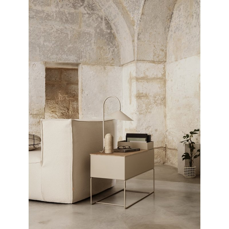 ferm LIVING-collectie Arum Table Lamp - Cashmere