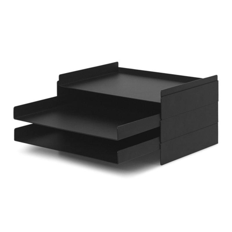 ferm LIVING-collectie 2x2 Organiser zwart