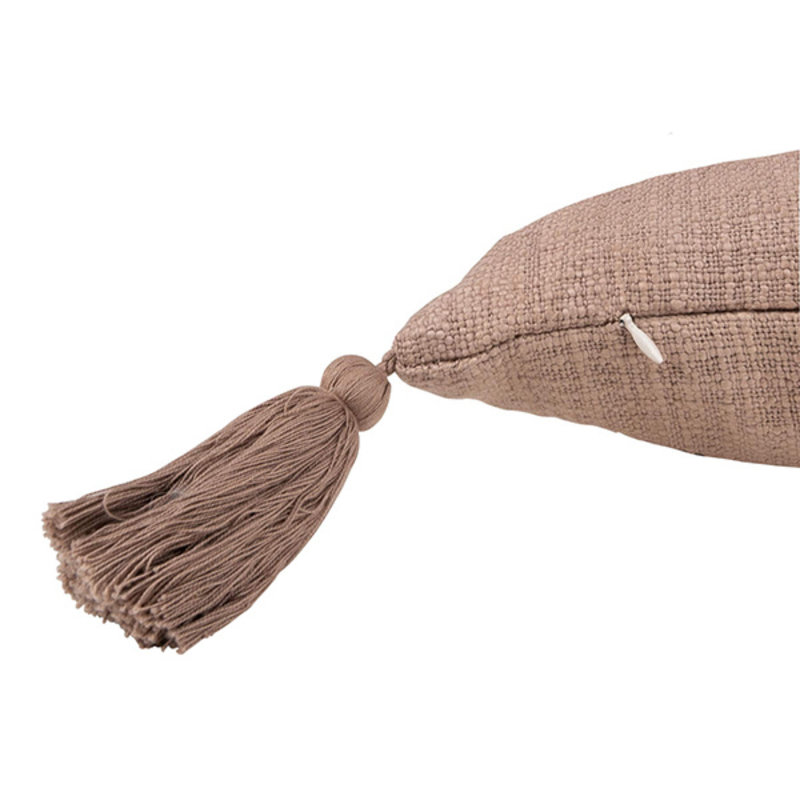 Zusss-collectie Cushion with tassels lila