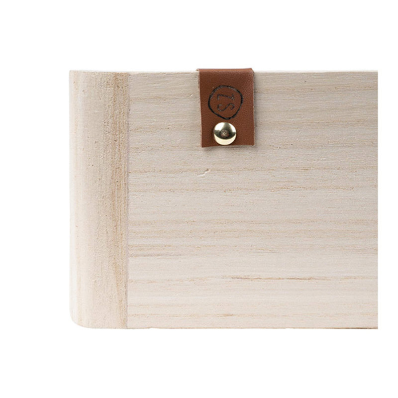 Zusss-collectie Wallcabinet natural wood