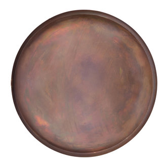 Zusss Tray metal copper 40cm