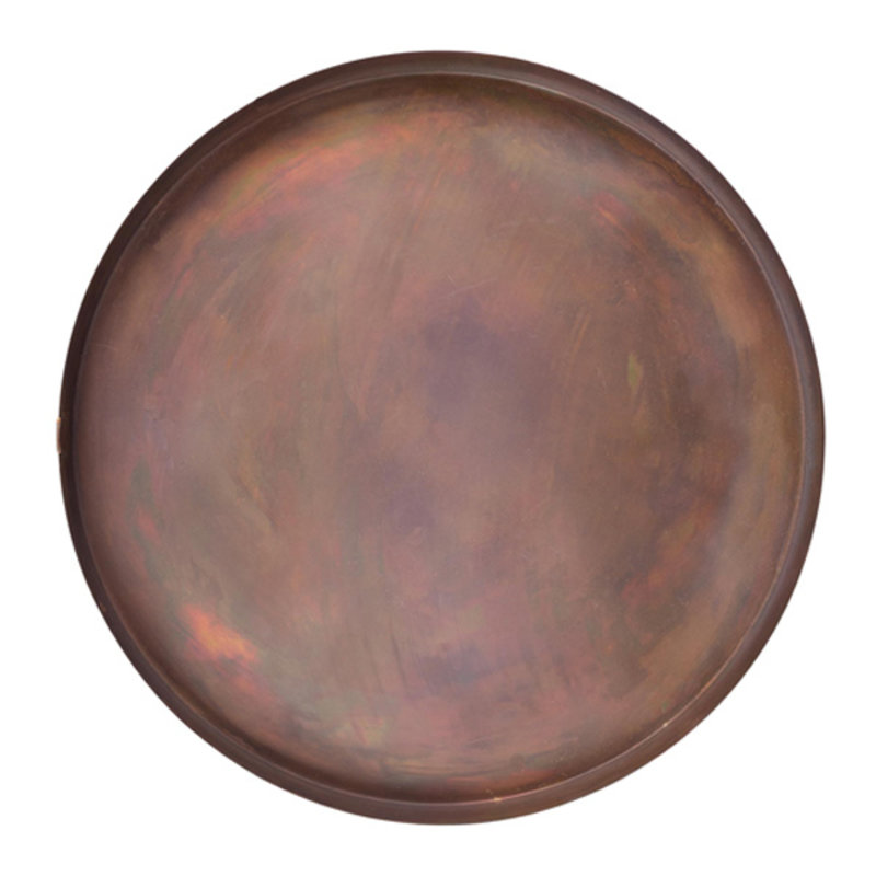 Zusss-collectie Tray metal copper 40cm