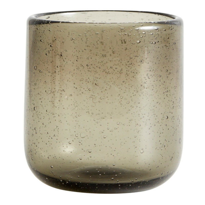 Nordal-collectie MAROC drinking glass, col. smoke