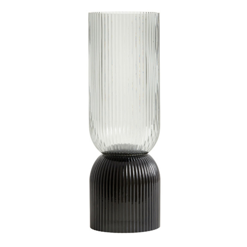 Nordal-collectie RIVA vase/candleholder, Tall, col. black