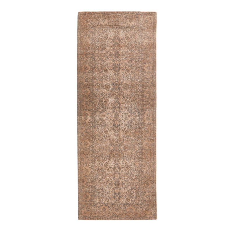 Nordal-collectie KARMA woven rug, peach/nude/grey