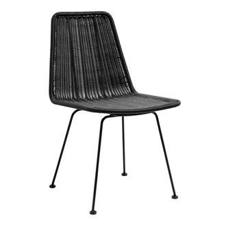 Nordal IRONY dinning chair, black