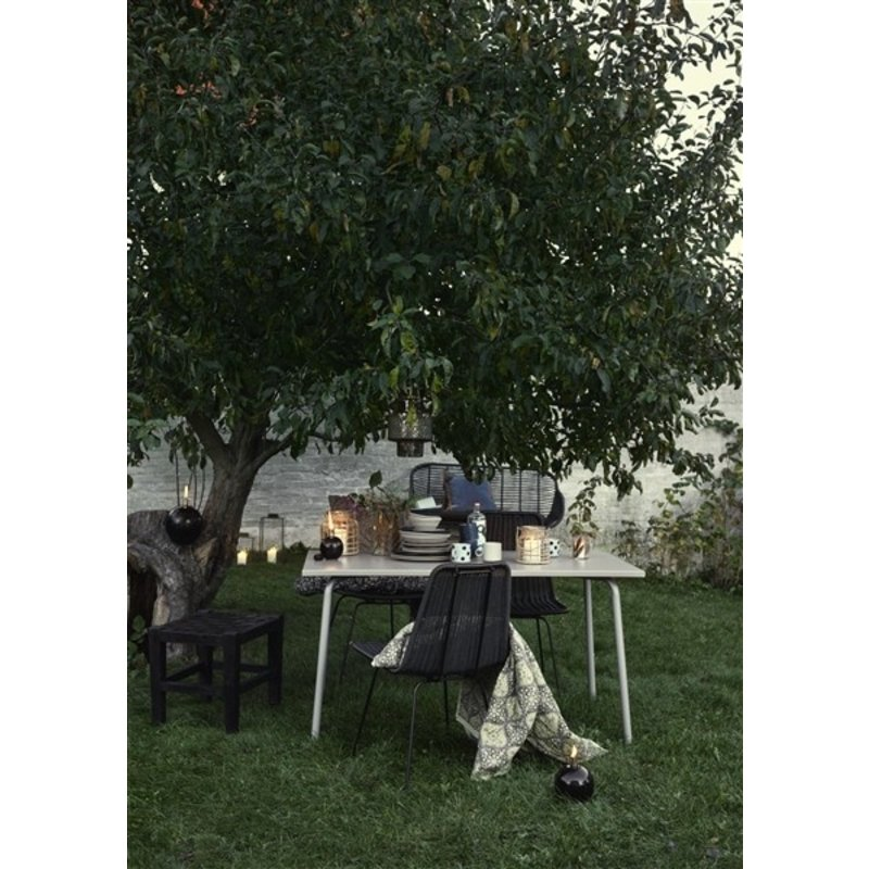 Nordal-collectie IRONY dinning chair, black